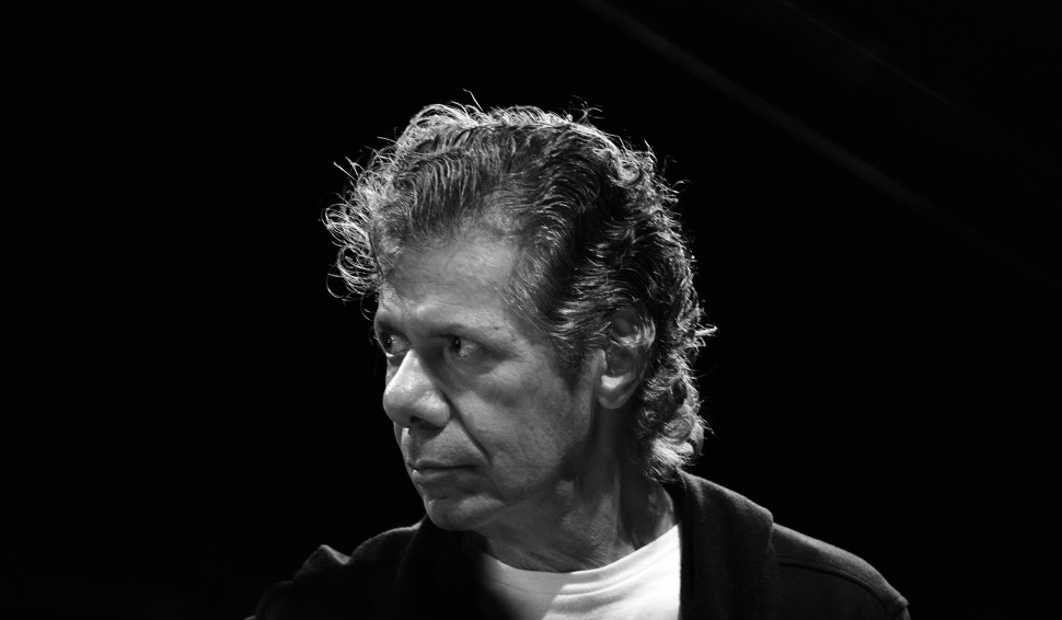 Chick Corea - photo by Frank Stewart for Jazz at Lincoln Center